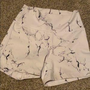 Buffbunny marble shorts